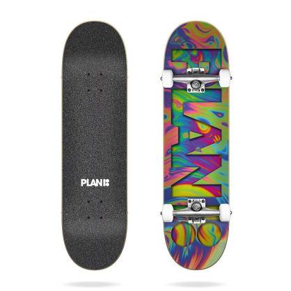 "Plan B Skateboards Team Psychedelic Complete Skateboard 7.75"""
