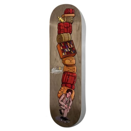 Girl Bennett Emotional Baggage Skateboard Deck - 8.25""