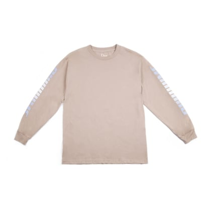 DIME SCREAMING L/S TEE - SAND