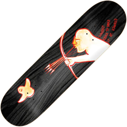 "Krooked Worrest Archur twin tail slick deck (8.38"")"