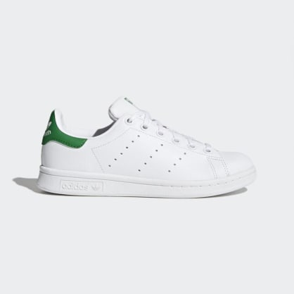 Adidas - STAN SMITH - White / Green / Green