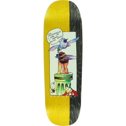 Krooked Skateboards Dan Drehobl Pedistol Pool Shaped Skateboard Deck - 9.25""