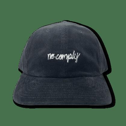 No-Comply Script Corduroy Dad Hat