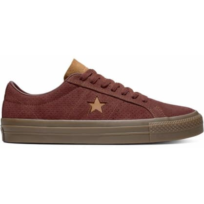 Converse Cons One Star Pro Shoes - Barkroot Brown/Ale Brown/Brown