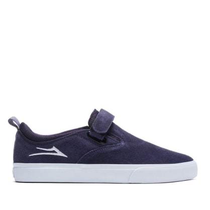 Lakai Riley Hawk 2 Suede Skate Shoes - Purple