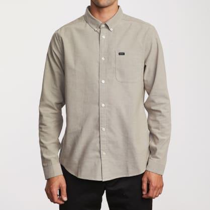 RVCA That'll Do Stretch Long Sleeve Shirt