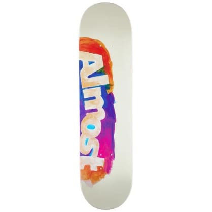 Almost - Side Smudge Deck Cream 8.25""
