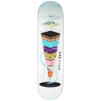 Real Van Vark One Off Topography Deck- 8.25