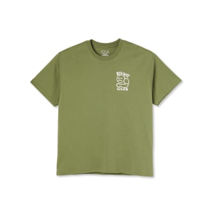 Polar Skate Co Big Boy Club T-Shirt - Khaki