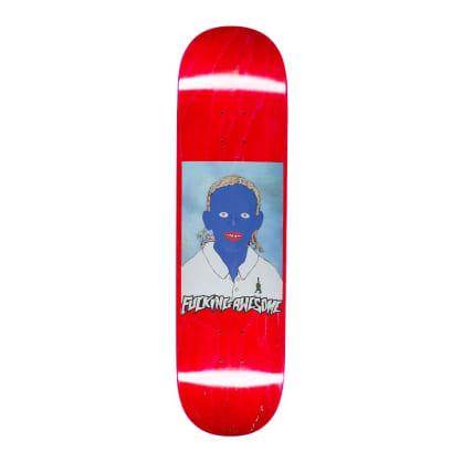 "Fucking Awesome Painted Na-Kel Skateboard Deck - 8.5"""