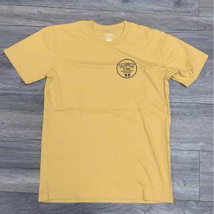 Scumco and Sons Tee Yellow