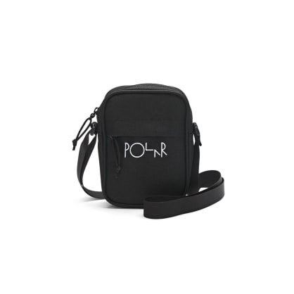 Polar Skate Co Cordura Script Mini Dealer Bag Black