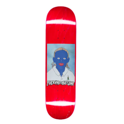 Fucking Awesome Painted Na-Kel Deck - 8.25""