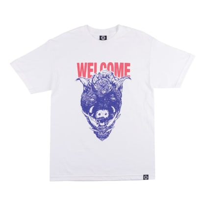 Welcome Hog Wild T-Shirt - White