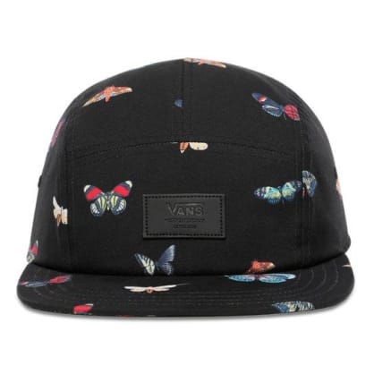 Vans - Davis 5 Panel Hat - Black Metamorphosis