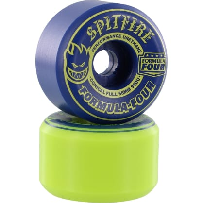 Spitfire - F4 99a Conical Full 56mm Navy/Lime