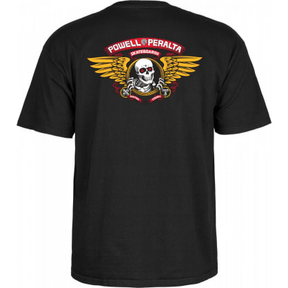 POWELL PERALTA Winged Ripper Tee Black
