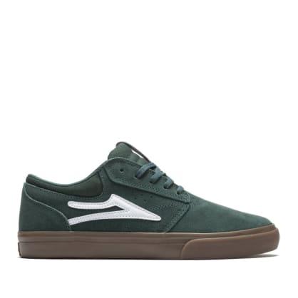 Lakai Griffin Suede Skate Shoes - Pine / Gum