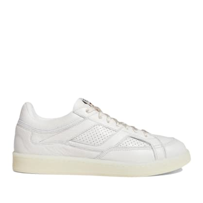 adidas Skateboarding FA Experiment 2 Shoes - Crystal White / Chalk White / Gold Metallic