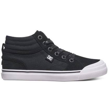 DC EVAN HI KIDS - BLACK WHITE