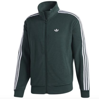Adidas Skateboarding Bouclette Jacket Mint Green/White