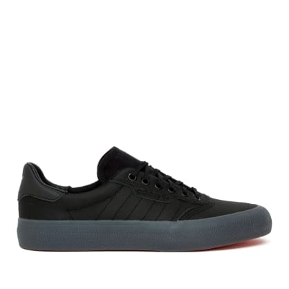 adidas Skateboarding 3MC Vulc Shoes - Core Black / Core Black / Core Black