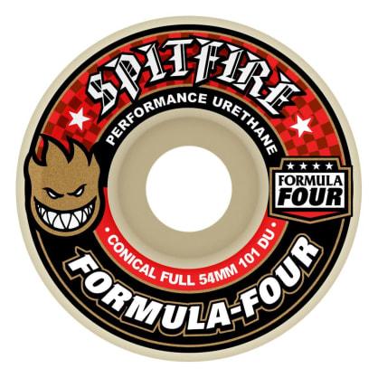 Spitfire Wheels - Formula Four Conical Full Wheels 101a 54mm