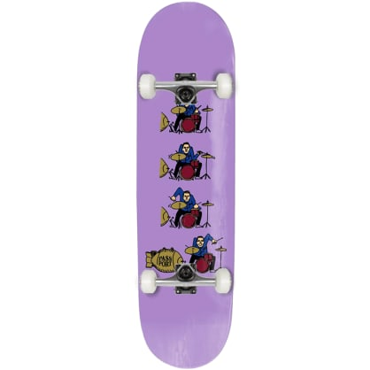 """Pass~Port - What U Thought - Drums - Complete Skateboard - 8.38"""""""