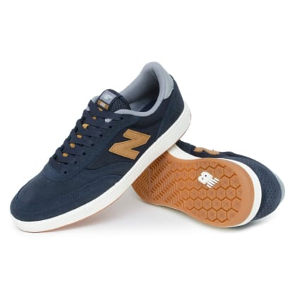 New Balance NM440 Shoes - Navy/Brown