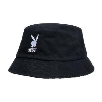 HUF x Playboy Reversible Bucket Hat - Black / White