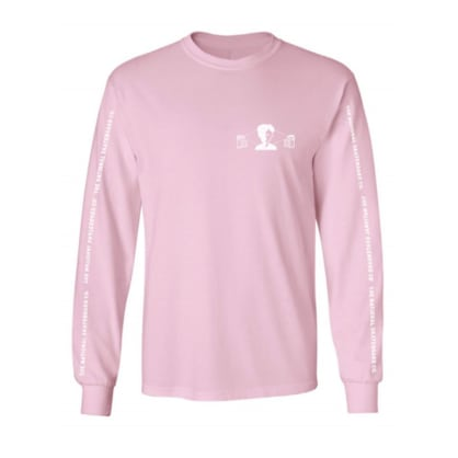 The National Skateboard Co. Exposure Long Sleeve T-Shirt - Pink