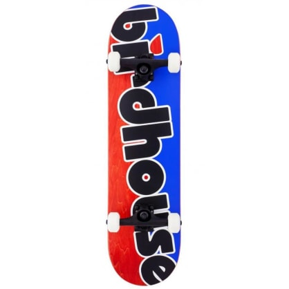 Birdhouse Stage 3 Toy Logo Complete Skateboard - Blue/Red - 8.00