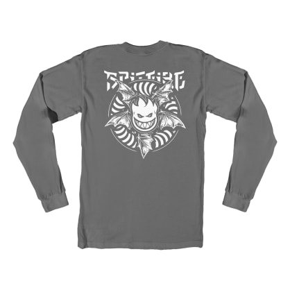 Spitfire Nocturnus Long Sleeve T-Shirt - Charcoal