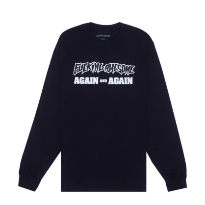 Fucking Awesome - Fucking Awesome Again and Again L/S T-Shirt | Black