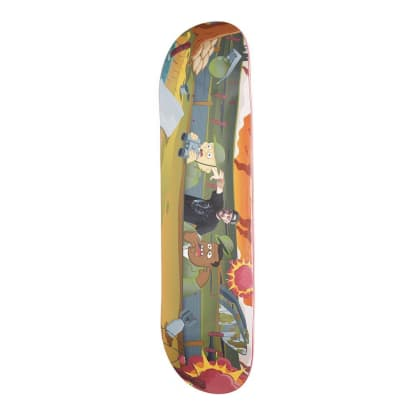 Alltimers Zered Souljahs Skateboard Deck - 8.3""