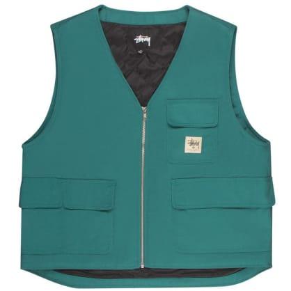 Stüssy Insulated Work Vest - Teal