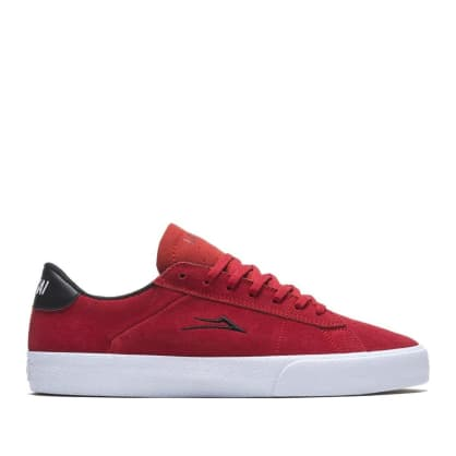 Lakai Newport Suede Skate Shoes - Flame