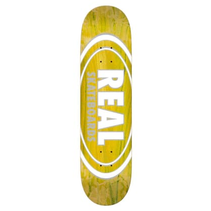 Oval Patterns Team Series - Yellow - 7.75