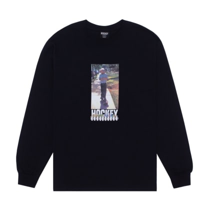 Hockey Neighbor Long Sleeve T-Shirt - Black