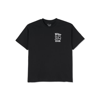 Polar Skate Co Big Boy Club T-Shirt - Black