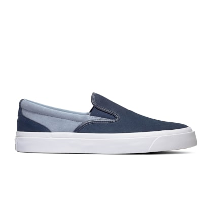 Converse One Star CC Slip On Obsidian - Blue Slate - White