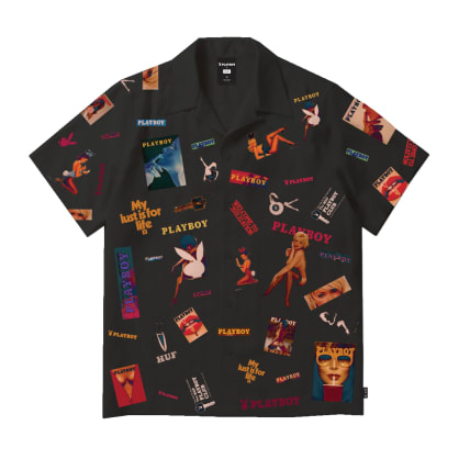 Huf x Playboy Collage Short Sleeve Woven Shirt
