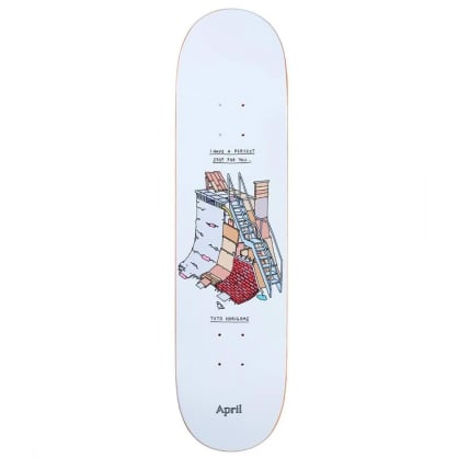 "April Skateboards - Yuto Horigome Perfect Spot Deck 8.25"" Wide"