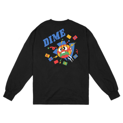 Dime Breaker Long Sleeve T-Shirt - Black