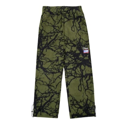 DIME TREE PRINT FLEECE PANTS - WOODLAND