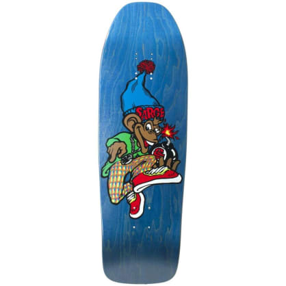 """New Deal - Sargent Monkey Bomber Screen Printed Deck (9.625"""")"""