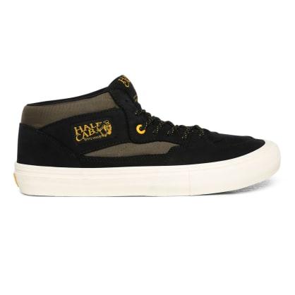 Vans Surplus Half Cab Pro Skate Shoes - Black / Military