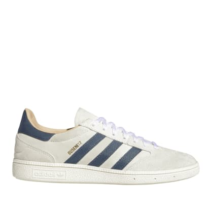 adidas Skateboarding Busenitz Vintage Shoes - Crystal White / Legacy Blue / Chalk White