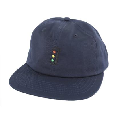 Traffic Skateboards Traffic Light Strapback Navy