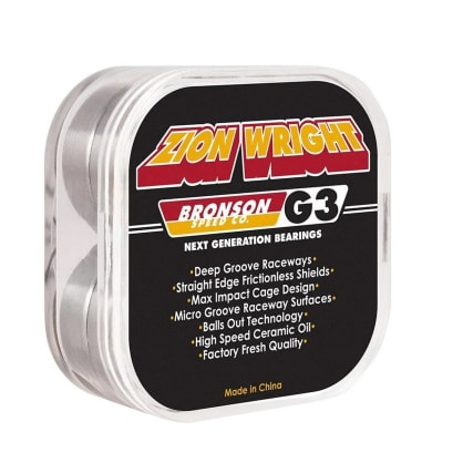 Bronson Speed Co Zion Wright Pro G3 Bearings